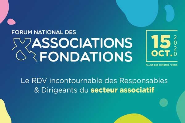 Le Forum national des associations et fondations se tiendra le 15 octobre